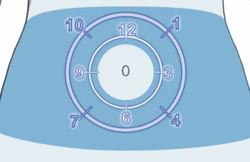 insulin pump clock rotation